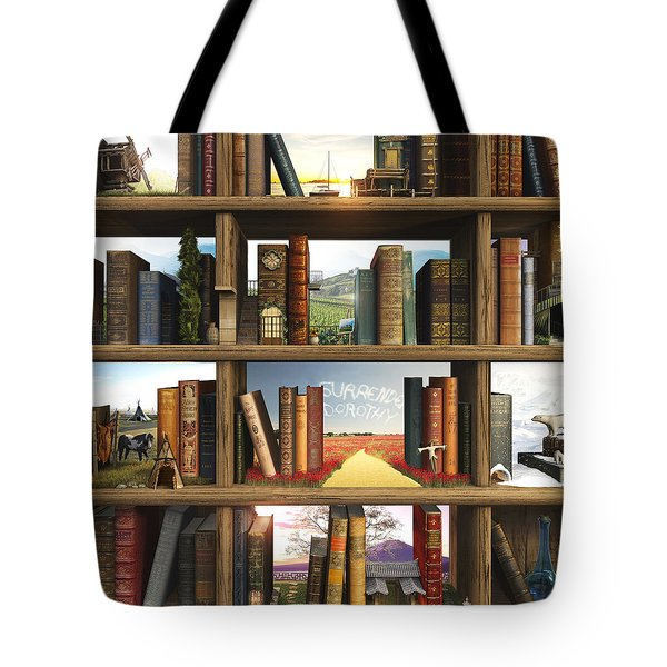 Storyworld Tote Bag by Cynthia Decker