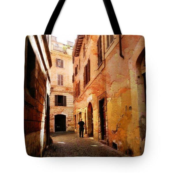 Strade Di Ciottoli Tote Bag by Micki Findlay