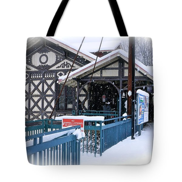 Strafford Station Tote Bag