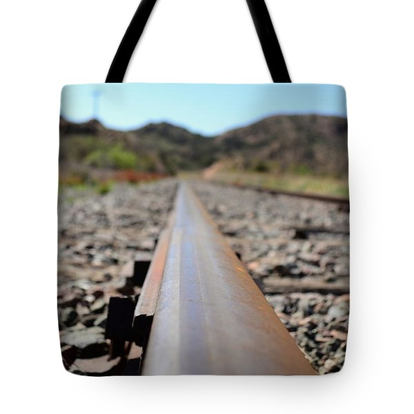 Straight And Narrow Tote Bag