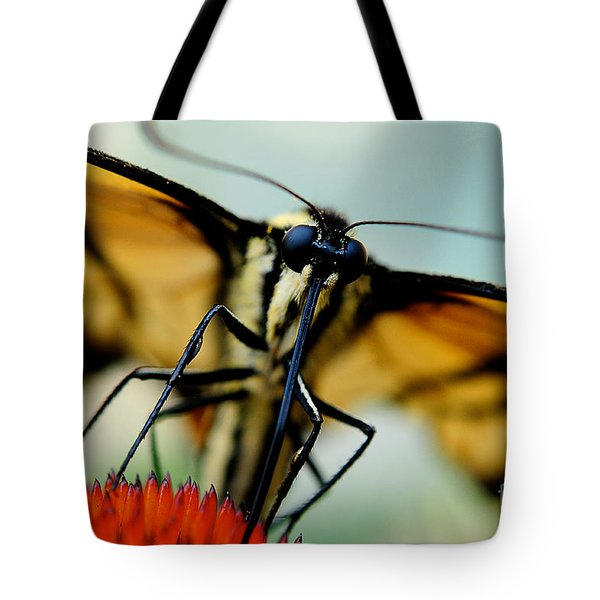 Straight On For You Tote Bag by Lois Bryan
