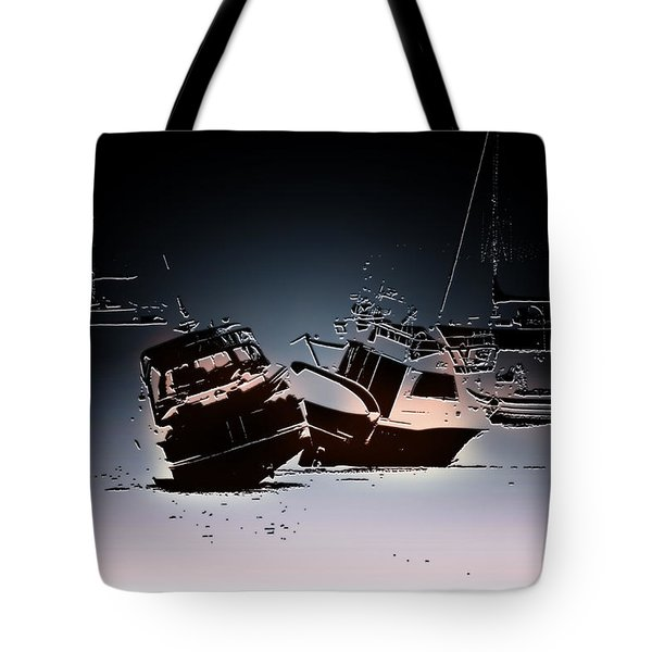 Stranded Tote Bag by Pennie  McCracken