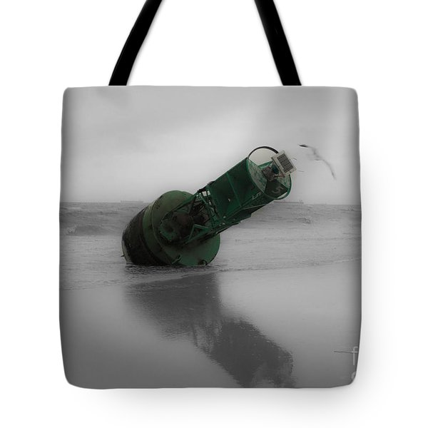 Tote Bag featuring the photograph Stranded Too by Angela DeFrias