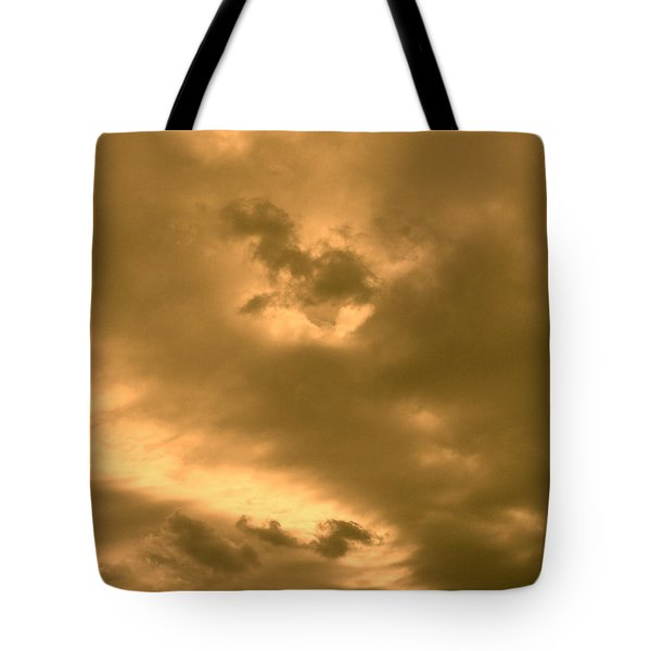 Strange Atmosphere Tote Bag