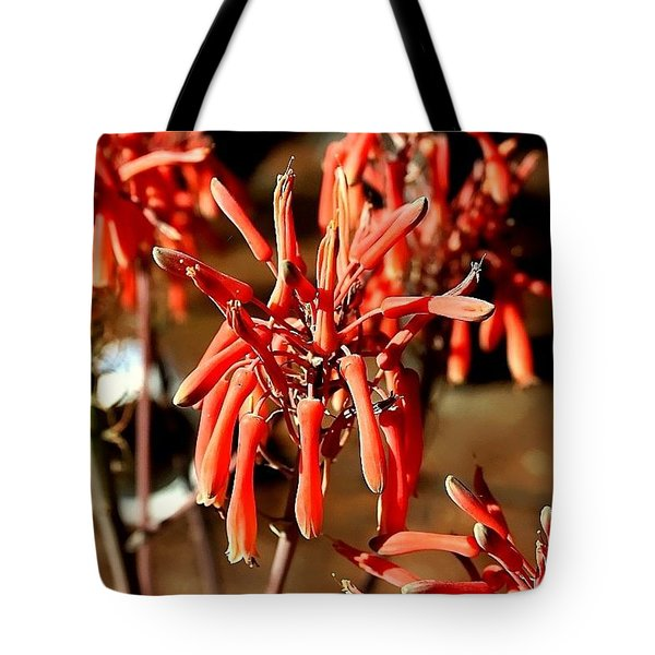 Tote Bag featuring the photograph Strange Delight by Debra Forand