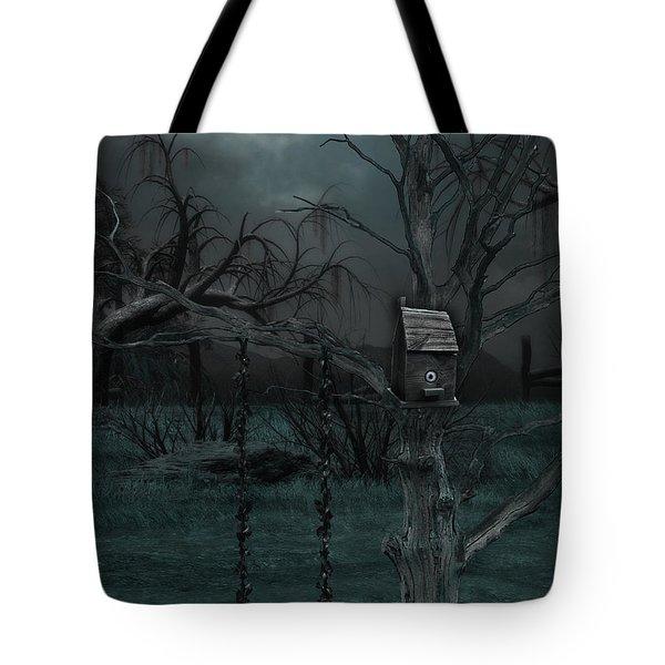 Strange Eyedea Tote Bag