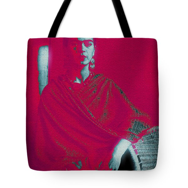 Strange Frida Tote Bag