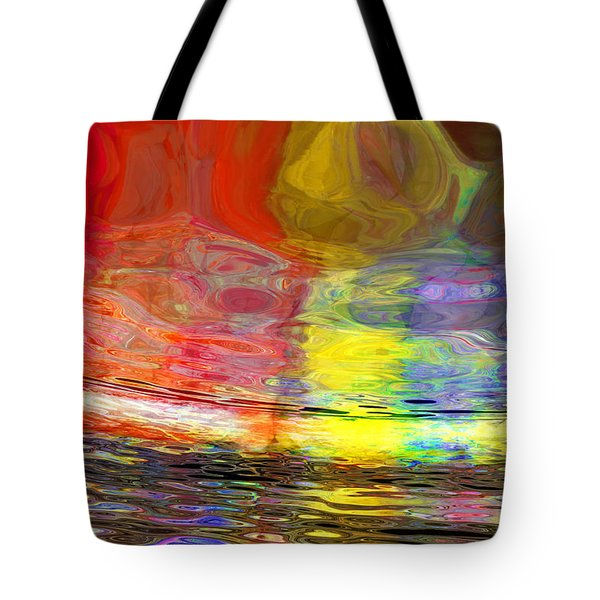 Strange Horizons Tote Bag by Matt Lindley