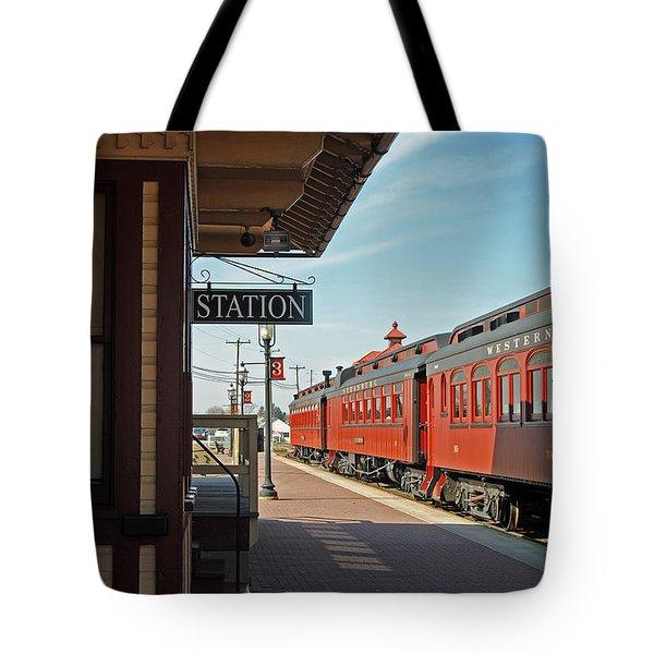 Strasburg Tote Bag by Skip Willits