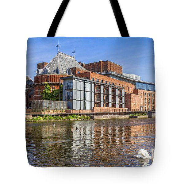 Stratford Upon Avon Royal Shakespeare Theatre Tote Bag by Colin and Linda McKie