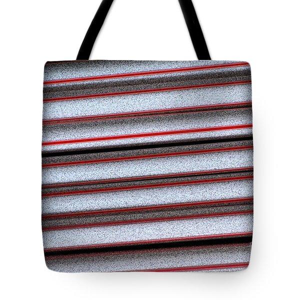Straw Red Tote Bag by Carol Lynch