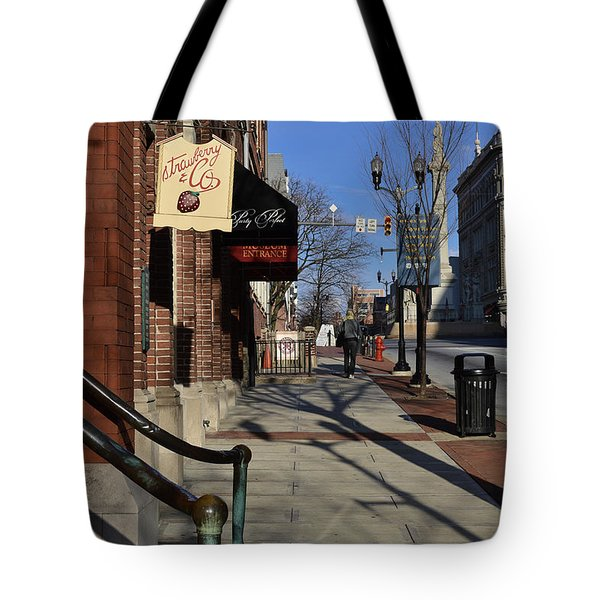 Strawberry And Company Tote Bag by Trish Tritz