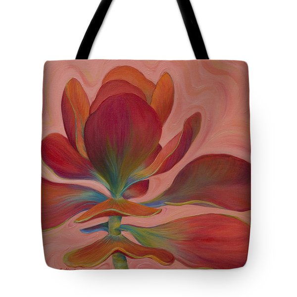 Tote Bag featuring the painting Strawberry Flapjack by Sandi Whetzel