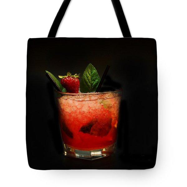 Strawberry Mojito Tote Bag