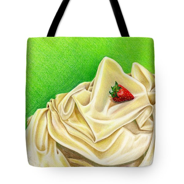 Strawberry Passion Tote Bag