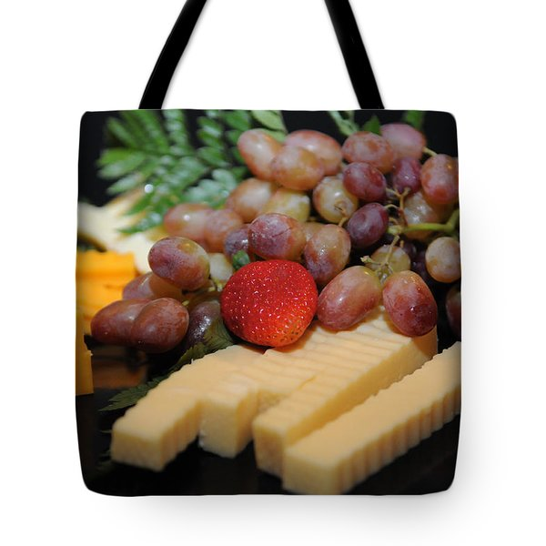 Strawberry Plus Tote Bag