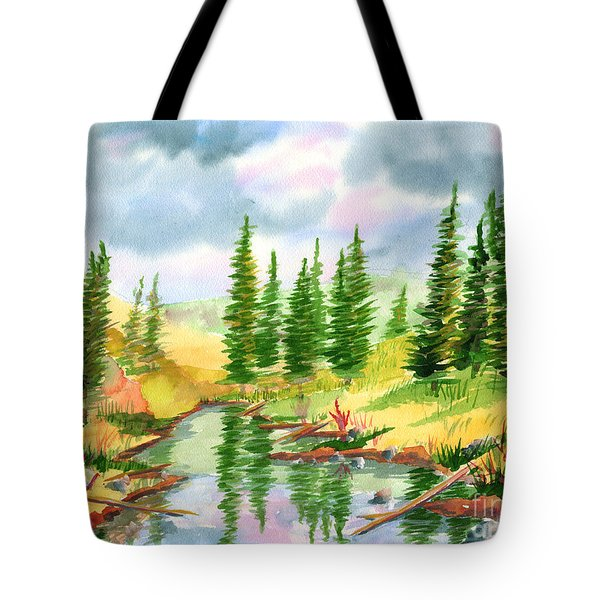 Strawberry Reservoir 2 Tote Bag
