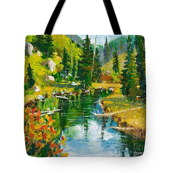 Strawberry Reservoir Tote Bag