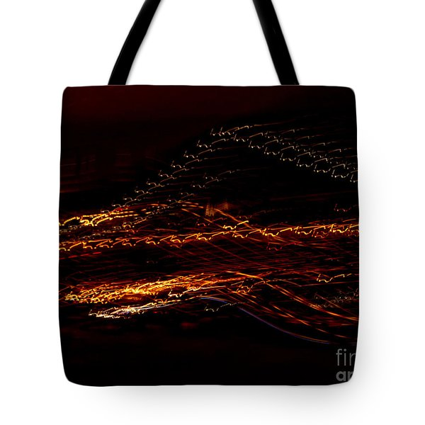 Streaks Across The Bridge Tote Bag