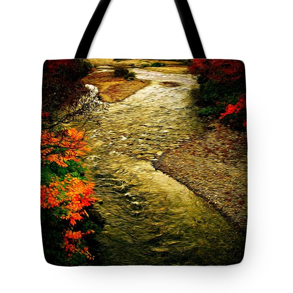 Stream Tote Bag by Bill Howard