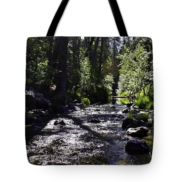 Tote Bag featuring the photograph Stream by Brian Williamson