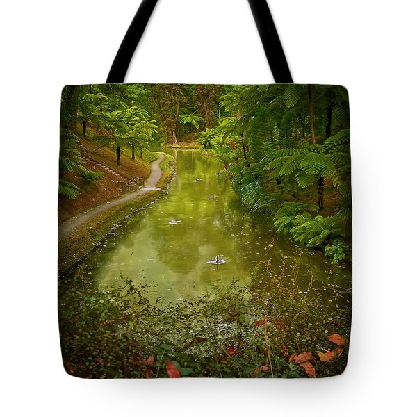 Stream In Paradise Tote Bag