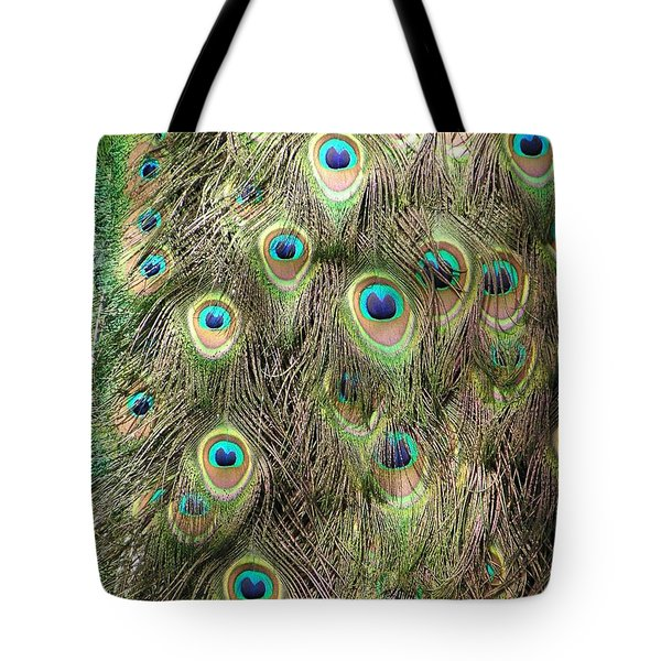 Tote Bag featuring the photograph Stream Of Eyes by Diane Alexander