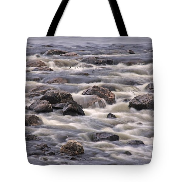 Streaming Rocks Tote Bag