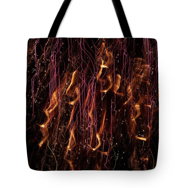 Streams Of Gold And Purple Tote Bag by Aimee L Maher Photography and Art Visit ALMGallerydotcom