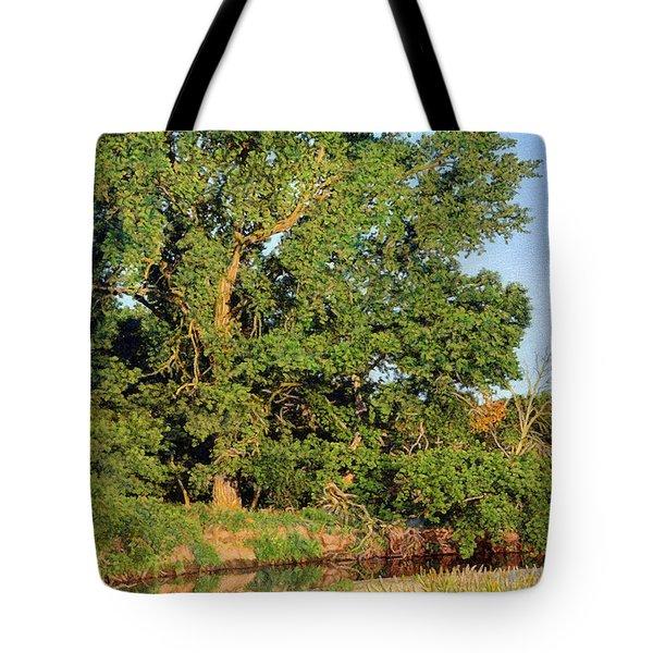 Streamside Cottonwood Tote Bag