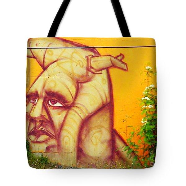 Street Art 3 Tote Bag