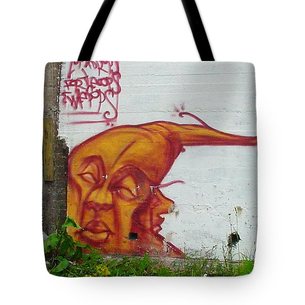 Street Art 4 Tote Bag