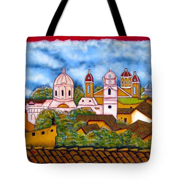 Street Art Granada Nicaragua 3 Tote Bag