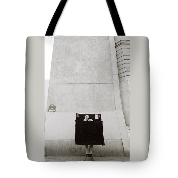 Paris Surrealism Tote Bag by Shaun Higson