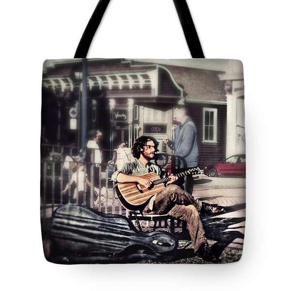 Tote Bag featuring the photograph Street Beats by Melanie Lankford Photography
