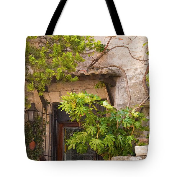 Street Entrance Tote Bag by Bob Phillips