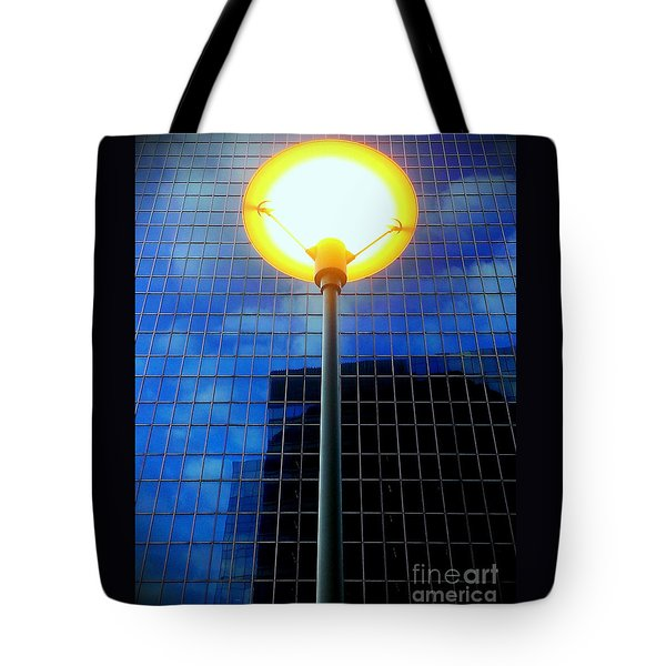 Street Halo Tote Bag by James Aiken
