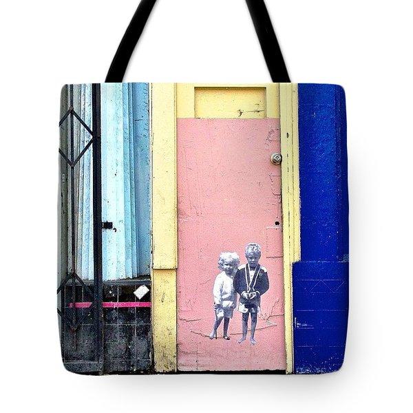 Street Kids Tote Bag