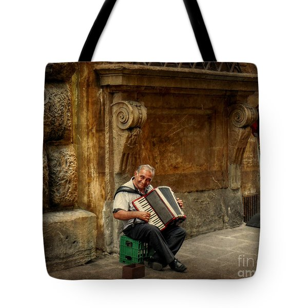 Street  Music Tote Bag