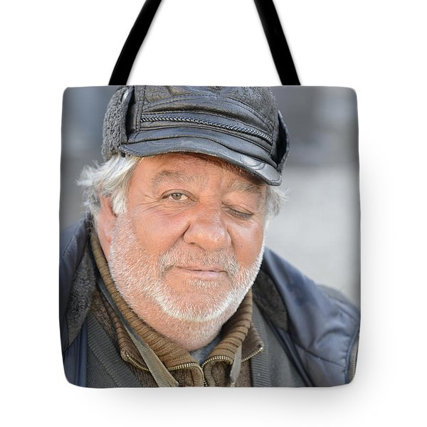 Street Musician - The Gypsy Saxophonist 2 Tote Bag