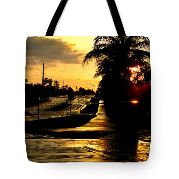 Street Of Dreams Tote Bag by Laura Fasulo