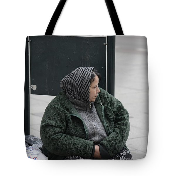 Street People - A Touch Of Humanity 9 Tote Bag by Teo SITCHET-KANDA
