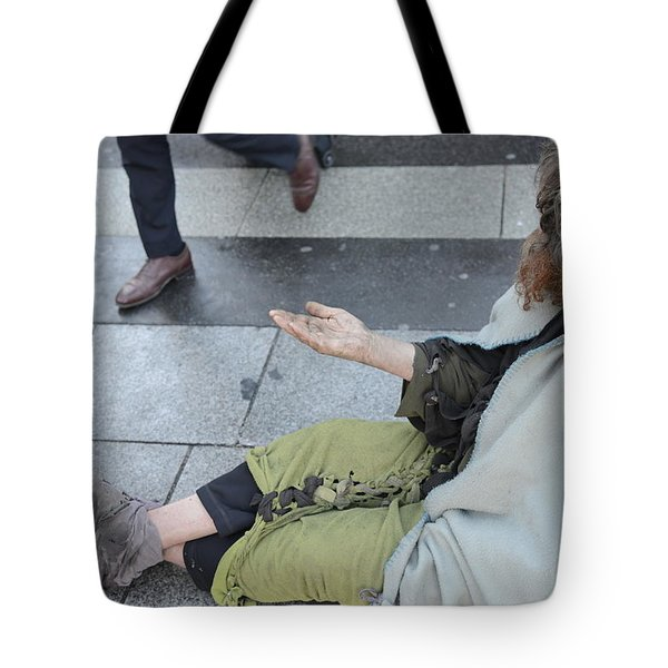 Street People - A Touch Of Humanity 25 Tote Bag