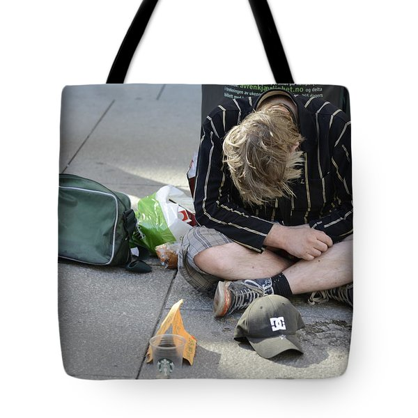 Street People - A Touch Of Humanity 8 Tote Bag