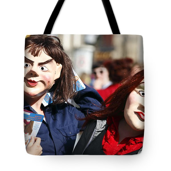 Street Performers Tote Bag