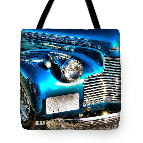Street Rod Tote Bag by Debbi Granruth