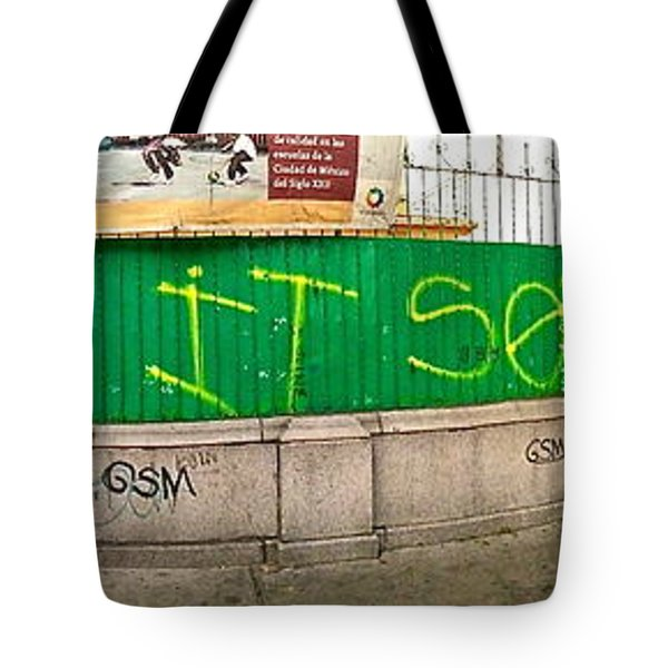 Street Scene - Mexico City Tote Bag by Sean Griffin