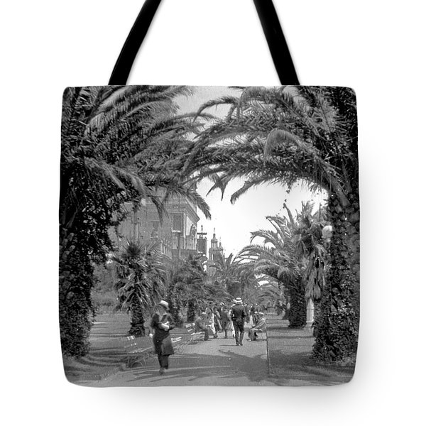 Avenue Of The Palms, San Francisco Tote Bag