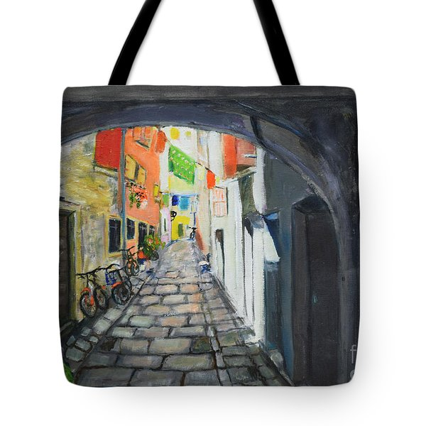 Street View 2 From Pula Tote Bag