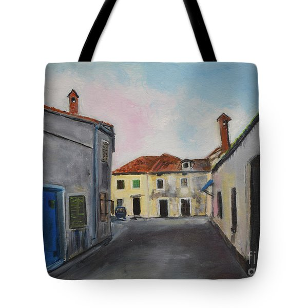 Street View From Kavran Tote Bag